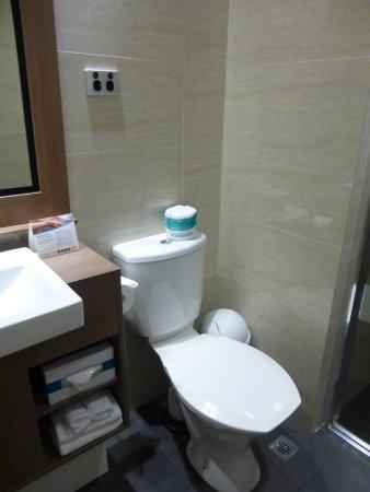 Quality Hotel Ambassador Perth: トイレ