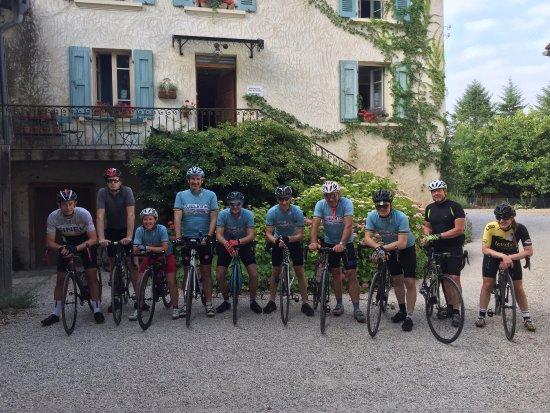 Saint-Jean-en-Royans, Frankrijk: Ready for the off!!
