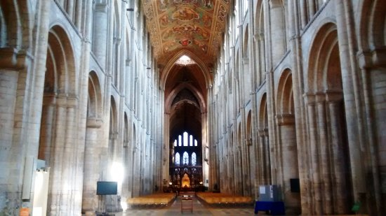 Ely, UK: View of the Nave looking West