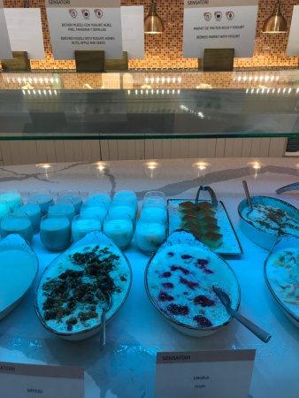Lighthouse breakfast buffet