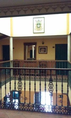 Madronera, İspanya: Patio interior
