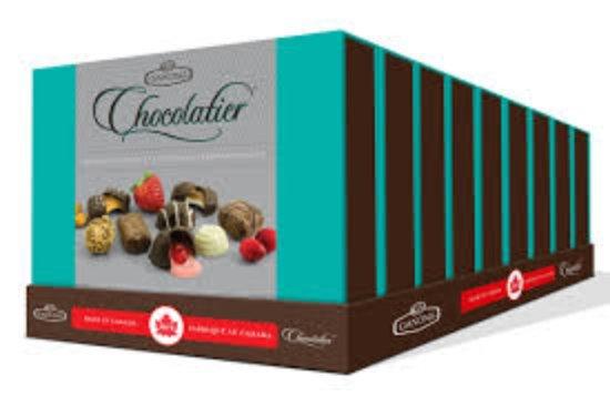 St. Stephen, Canada: Our Chocolatier box, a premium assortment.