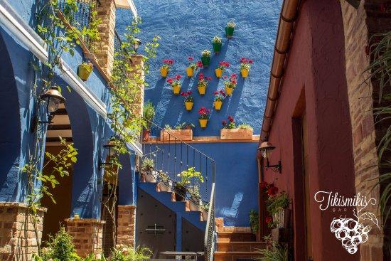 Elda, Ισπανία: Nuestro patio interior