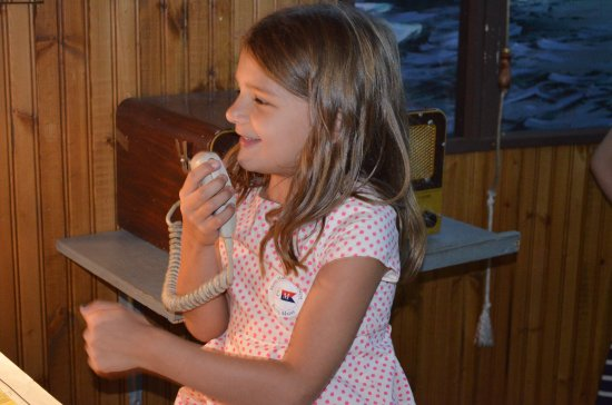 Bath, ME: Lots of kid-friendly exhibits and activities, including our tugboat pilothouse!