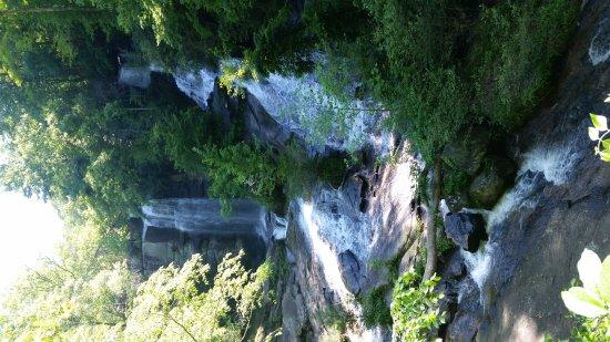 Sunset, Carolina del Sur: Twin Falls/Eastatoe Falls