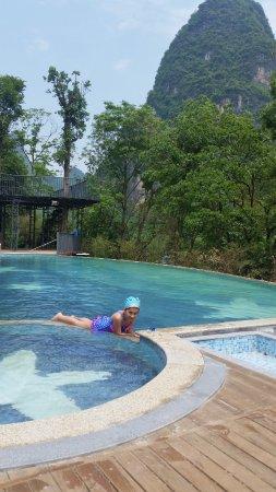Li River Resort: Great for kids