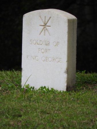 Darien, GA: A gravestone