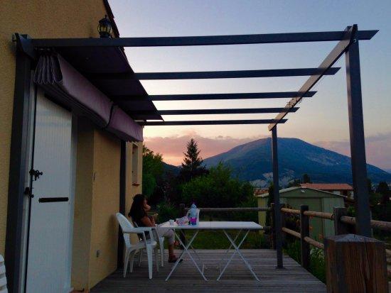 Saint Andre Les Alpes, Frankrike: La terrasse
