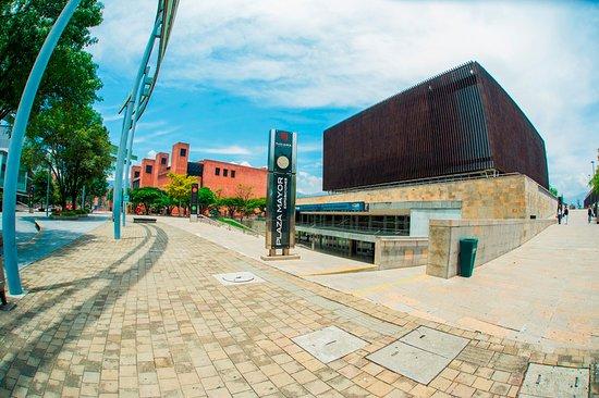 Plaza Mayor: ¡Caja de Madera! Uno de nuestros espacios más representativos en el área de convenciones.