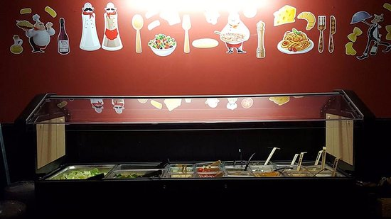 Neillsville, Висконсин: Full all you can eat Taco Bar - Great Food - Come visit us