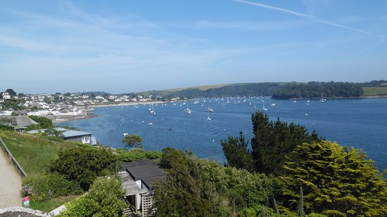 St Mawes, UK: View over bay