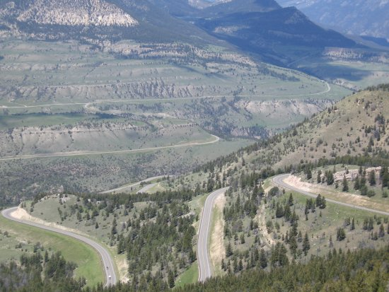 Chief Joseph Scenic Highway: View from the Chief Joseph Highway