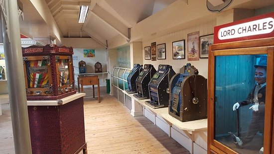 Wookey Hole Caves: Victorian Penny Arcade