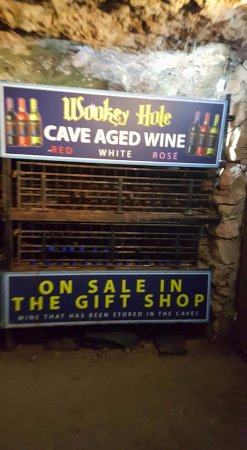 Wookey Hole, UK: Wookey Wine