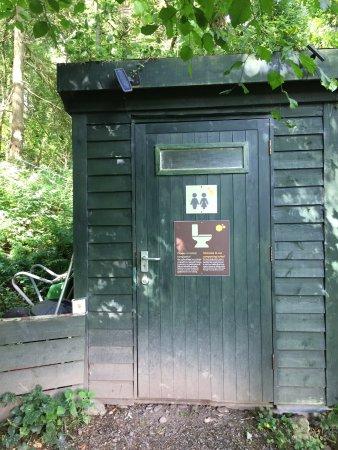 Capel Curig, UK: The toilet!