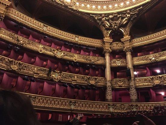 loge du fantome de l opera パリ ガルニエ宮 パリ国立オペラの写真