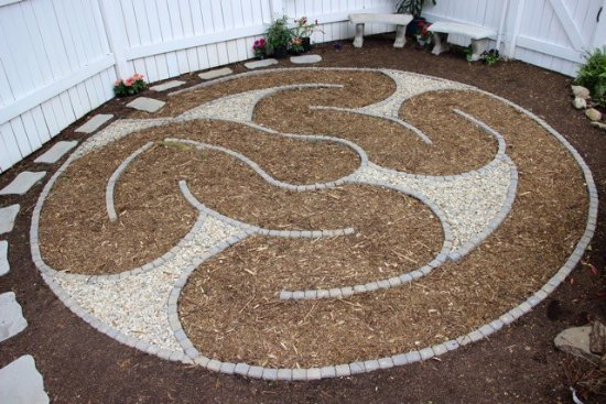 Westford, MA: Introduction to the newly created Fletcher Tavern B&B Labyrinth. Great place for a cup of tea.