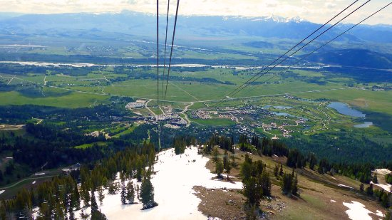 Jackson Hole Aerial Tram: Heading Back to the Valley