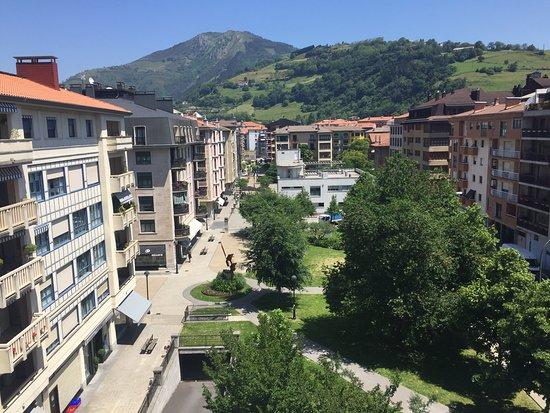 Hotel Oria : VISTA DESDE LA HABITACION