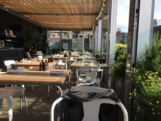 Boundary Rooftop Enclosed Restaurant Side