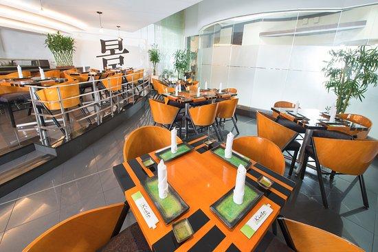 Hilton Colon Guayaquil: Kioto Sushi Bar