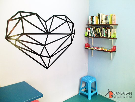 Sandakan Backpackers Hostel: Book Swap Corner