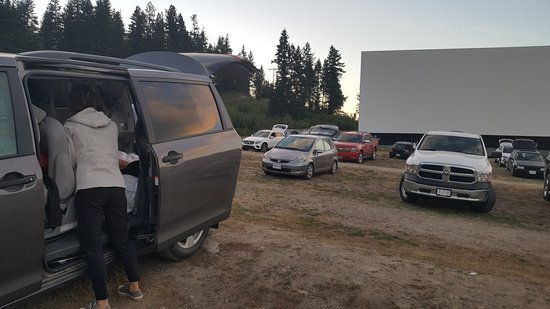 Enderby, Canada: Starlight Drive-In
