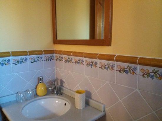 Vera de Moncayo, İspanya: baño privado