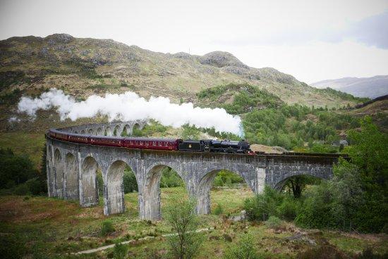 Glenfinnan, UK: Jacobite Steam Train