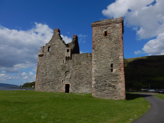 Lochranza castle is a free attraction in a stunning location.