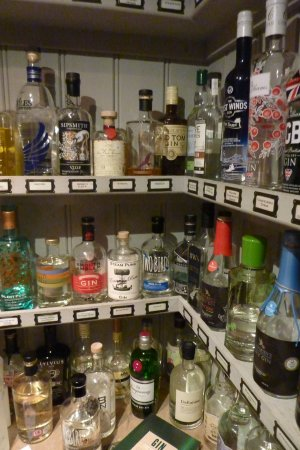 Clanfield, UK: More of the Gin Pantry