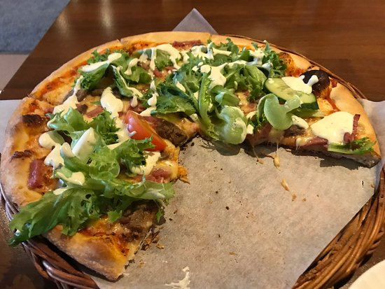 Verdal, Norge: Kebabpizza