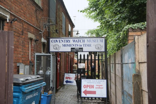 Coventry Watch Museum.