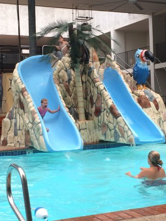 Adventureland Inn: Great pools for kids!