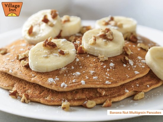 Tualatin, OR: Banana Nut Multigrain Pancakes