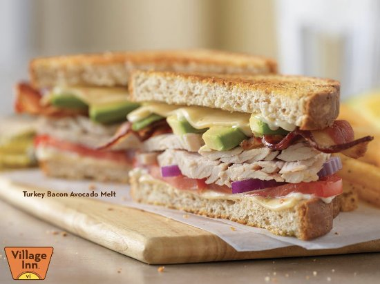 Tualatin, OR: Turkey Bacon Avocado Melt