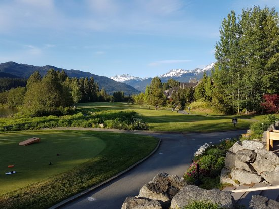 Nicklaus North Golf Course : From the varanda