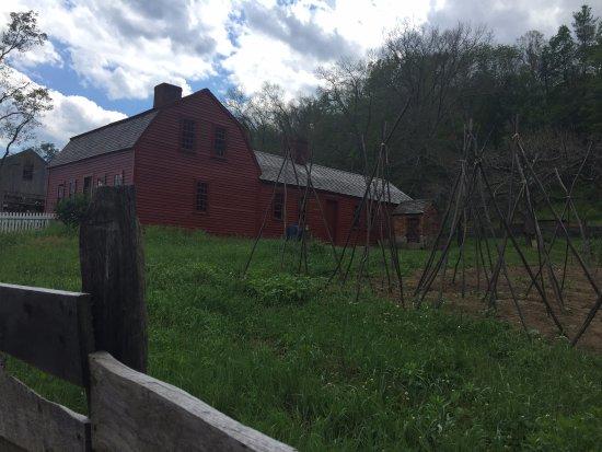 Old Sturbridge Village: Barn and orchard