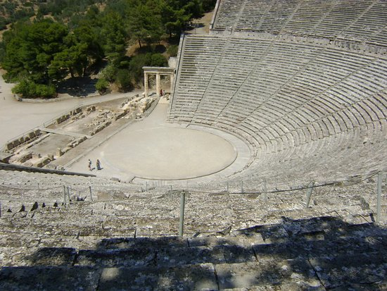 Epidavros, Greece: Théâtre d'Epidaure