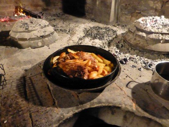 Island of Vis, Croacia: cooking our dinner