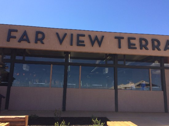 Far View Terrace Restaurant: extérieur