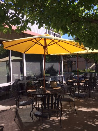 White River Junction, VT: Our Patio