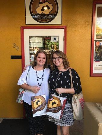 Poppington's Gourmet Popcorn: Birthday stop at Poppington's!