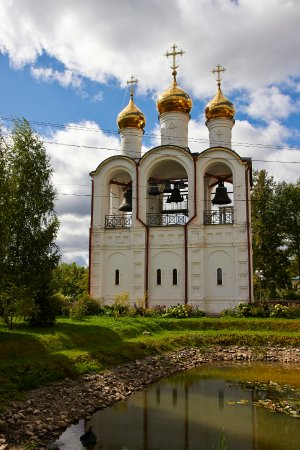 Pereslavl-Zalessky, Russland: Звонница