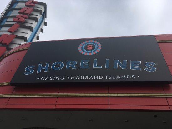 Gananoque, Canadá: Shorelines Casino