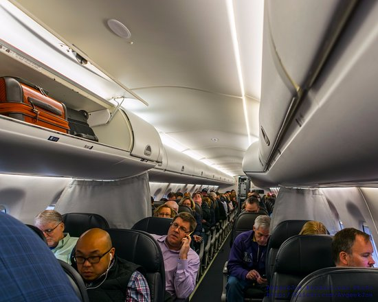 A Look Inside The Embraer 175 Cabin Picture Of Alaska