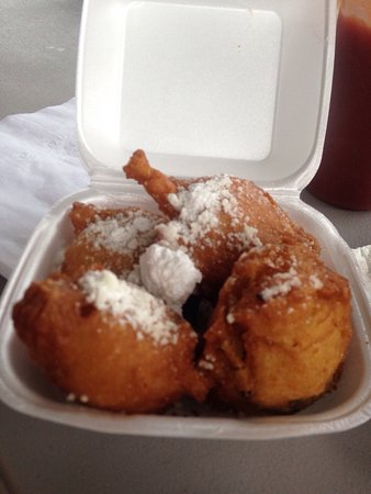 Crawfordville, Flórida: Huttons Seafood and More