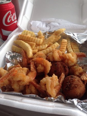 Crawfordville, Φλόριντα: Huttons Seafood and More