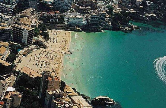 Cala Mayor Beach Desde El Aire