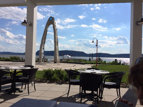 Ossining, NY: View from outside dining patio